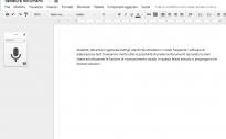 Tre soluzioni per scrivere documenti di testo utilizzando la voce