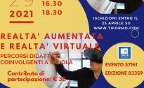 Webinar sulla Realtà Aumentata e Virtuale a scuola