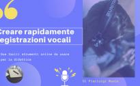Strumenti gratuiti per creare registrazioni e note vocali online